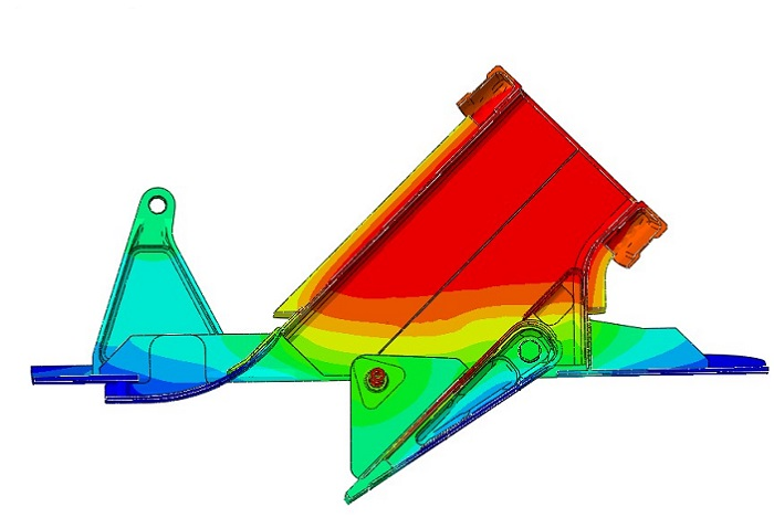 Thermal Analysis A350_CSAS-RAO - Temperature Field